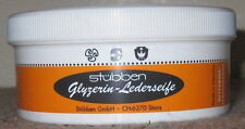 STUBBEN Glycerine Leather Bridle Saddle Tack Soap Cleaner BRAND NEW 250g
