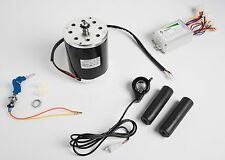 800 Watt 36 Volt electric motor kit w speed controller keylock & Thumb Throttle
