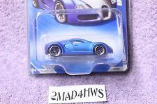 HTF 2010 Hot Wheels satin blue BUGATTI VEYRON 2/10 hot auction 150/240