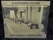 Jefferson Airplane  Bless Its Pointed Little Hea SEALED USA 1980 PROMO VINYL LP