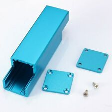 Aluminum Blue Box Enclosure Electronic Project Case 25*25*80mm