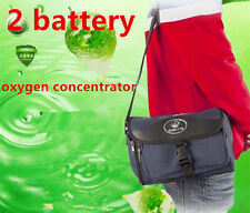 Portable Oxygen Concentrator Generator Home / Trave / Car + 2 Batteries DHL SHIP
