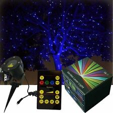 Blue Holiday Lazer Xmas Light Projector Outdoor Christmas Laser Light Show