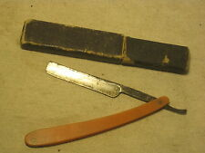 vintage straight razor Wald Germany ERN w/ Solingen Respect box