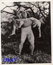 Bob Bryant monster carries Elaine Edwards RARE Photo Curse Of The Faceless Man