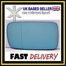Left Passenger Mirror Glass Blue Wide Angle BMW 3 E46 98-05 BMW7 E65 E66 02-08