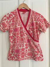 OILILY Vintage Women's Crossover Tee Sz Small S, EUC