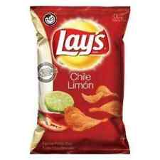 Lay's Chile Limon Flavored Potato Chips 10oz Bags (Pack of 3)