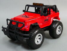 RC 1/14 Radio Control Truck JEEP WRANGLER RUBICON W/ LED Lights + SOUNDS