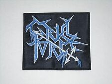CRUEL FORCE BLACK/THRASH METAL EMBROIDERED PATCH