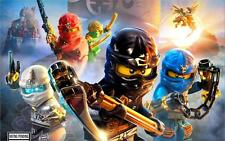 lego ninjago shadow of ronin 2015 Art Silk Poster 24x36""
