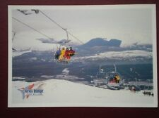 POSTCARD INVERNESS-SHIRE NEVIS RANGE CHAIRLIFT