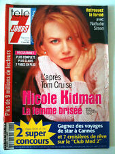 Télé 7 Jours 05/05/2001 Nicole Kidman la femme brisée/ Audrey Tautou/ M. Pingeot
