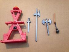 Playmobil accessories lot - swords and weapons for knights