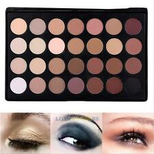 Pro 28 Colors Eye Shadow Cosmetic Makeup Shimmer Matte Eyeshadow Palette Set L