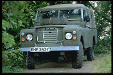 354069 Land Rover Series III Army Pick up 1983 A4 Photo Print