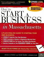 How to Start a Business in Massachusetts (Legal Survival Guides)-ExLibrary
