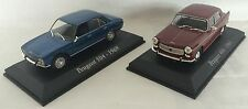 LOT 2 PEUGEOT 504+404 NOREV  - VOITURE MINIATURE COLLECTION 1/43