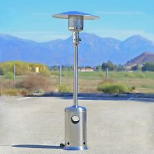 Patio Heater Commercial Outdoor LP Propane Deck Tall Gas BTU Stainless Stee