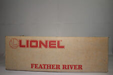 LIONEL O SCALE #6-11733 FEATHER RIVER WESTERN PACIFIC TRAIN SET, SEALED NIB