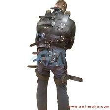 Top Quality COWHIDE Leather Restraint Jacket Armbinder