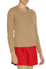 NWT BURBERRY WOMENS CHUNKY KNIT 100% CASHMERE  SWEATER SZ M