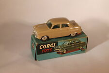 Corgi 200 Fawn Ford Consul Non mechanical. Very, Near Mint boxed. Issued 1956-61