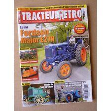 Tracteur Rétro n°45, Fordson Major E27N, Pécard, Pont-du-Casse, Michel Simon mot