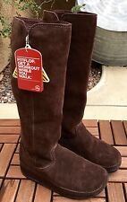 NIB FITFLOP Superboot TALL - CHOCOLATE SUEDE - Size 9