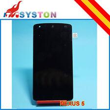 Pantalla Completa para Nexus 5 D820 D821 Google LCD + TACTIL Negra  negro Displa