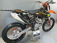 KTM SX/SXF 125-450 2013-2014 Rockstar Energy graphics + black plastic kit EJ2041