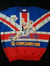 Adidas Vintage Olympic Games London 1908 crewneck sweater from the 1980's