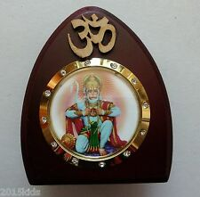 Sri Ram Bhakth Hanuman Ji God Idol Statue wooden Car Dashboard Hindu Religious