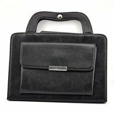 New Black Handbag Leather Magnetic Smart Stand Cover Case for iPad Mini 4