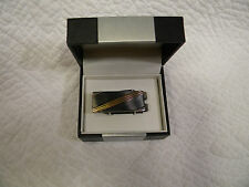 GEOFFREY BEENE Mens Gold/Silver Plated Money Clip / Tie Clip MSRP $35.00