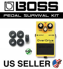 BOSS OD-3 OVERDRIVE SURVIVAL KIT GUITAR PEDAL GROMMET RUBBER O-RING SET OF 5