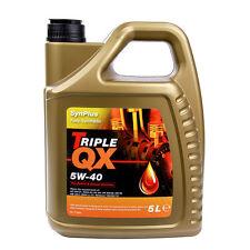 Aceite del motor de coche triple QX synplus SAE 5W40 totalmente sintético 5L A3 B3 B4 5 Litro