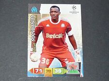 MANDANDA MARSEILLE OM UEFA PANINI CARD FOOTBALL CHAMPIONS LEAGUE 2011 2012