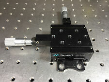 Newport 460A Linear XY Stage with SM-13 Micrometers Quick-Mount Low-Profile