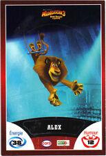 Vignette de collection autocollante CORA Madagascar 3 n° 70/90 - Alex