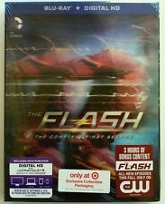 NEW THE FLASH SEASON 1 BLU RAY DIGITAL HD TARGET EXCLUSIVE LENTICULAR SLIPCOVER