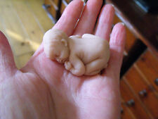 Ooak  miniature polymer clay  5 CM naked  BABY DOLL  1/12TH   by Harry