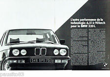 PUBLICITE ADVERTISING 016  1982  BMW   LA 520i  (2pages)