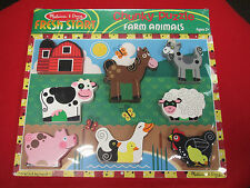 Melissa & Doug - #3723 - Chunky Puzzle - Farm Animals