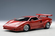 Lamborghini Countach 25th Anniversary Edition Red AUTOart 74534 1/18 Brand New