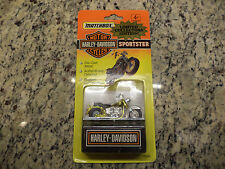 76246 Matchbox Harley Motor Cycle Bike Sportster GOLD Limited Collectors Edition