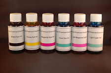 BULK INK REFILL BOTTLES CIS CISS FOR HP C5175 C5180 C6183 C6185 C6188 C6200