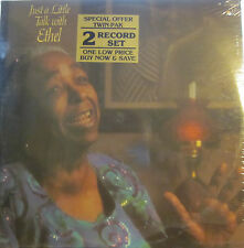 Ethel Waters - Just a Little Talk with Ethel  (Word 8708) (2 LP Set) (Sealed)