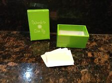 2009 American Girl Doll Chrissa Retired Party Treats Box of Wishes ONLY