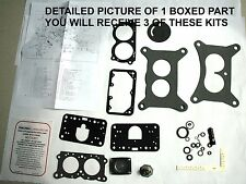 1961 66 CARB KITS TRI POWER FORD HOLLEY 2436 2437 2497 2498 2499 2867 2868 2881
